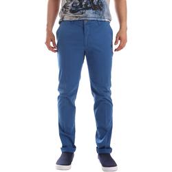 textil Herr Chinos / Carrot jeans Sei3sei PZVI69 7148 Blå