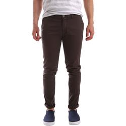 textil Herr Chinos / Carrot jeans Sei3sei PZV21 7183 Brun