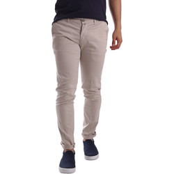 textil Herr Chinos / Carrot jeans Sei3sei PZV21 7183 Beige