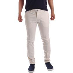 textil Herr Chinos / Carrot jeans Sei3sei PZV21 7148 Vit