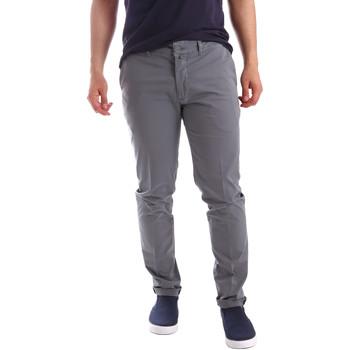 textil Herr Chinos / Carrot jeans Sei3sei PZV21 7148 Grå