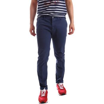 textil Herr Chinos / Carrot jeans Sei3sei PZV20 71341 Blå