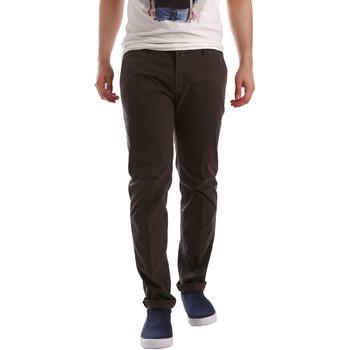 textil Herr Chinos / Carrot jeans Sei3sei PZV20 71341 Brun