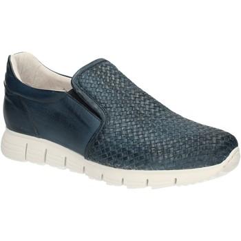 Skor Herr Loafers Exton 339 Blå