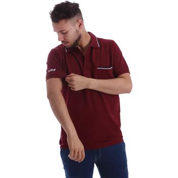 textil Herr Kortärmade pikétröjor Key Up 2827Q 0001 Röd