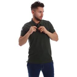 textil Herr Kortärmade pikétröjor Key Up 255QG 0001 Grön