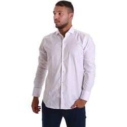 textil Herr Långärmade skjortor Gmf 971103/01 Vit