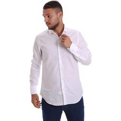 textil Herr Långärmade skjortor Gmf 971111/11 Vit