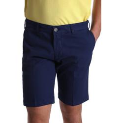 textil Herr Shorts / Bermudas Sei3sei PZV132 7182 Blå