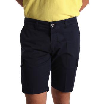 textil Herr Shorts / Bermudas Sei3sei PZV130 7148 Blå