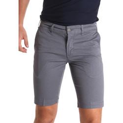 textil Herr Shorts / Bermudas Sei3sei PZV132 71336 Grå