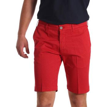textil Herr Shorts / Bermudas Sei3sei PZV132 71336 Röd