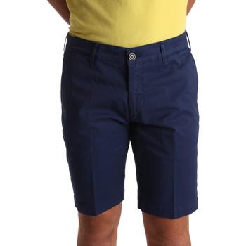 textil Herr Shorts / Bermudas Sei3sei PZV132 71336 Blå