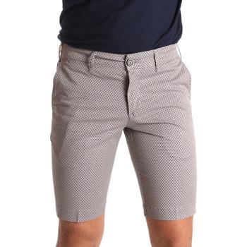 textil Herr Shorts / Bermudas Sei3sei PZV132 71336 Brun