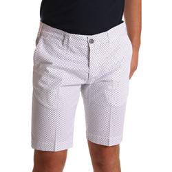 textil Herr Shorts / Bermudas Sei3sei PZV132 71336 Vit