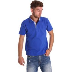 textil Herr Kortärmade pikétröjor Bradano 000116 Blå