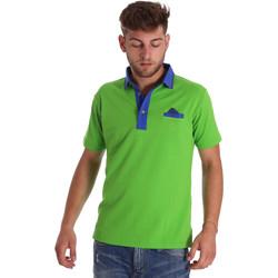 textil Herr Kortärmade pikétröjor Bradano 000114 Grön