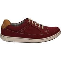 Skor Herr Sneakers Rockport BX1667 Röd