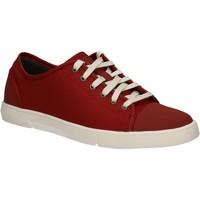 Skor Herr Sneakers Clarks 124230 Röd