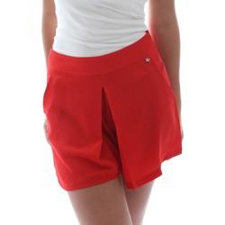textil Dam Shorts / Bermudas Fornarina BER1L17C98176 Röd