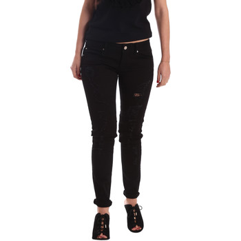 textil Dam Jeans boyfriend Gaudi 73BD24205 Svart