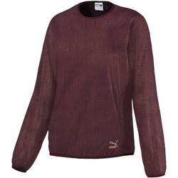 textil Dam Sweatshirts Puma 571660 Röd