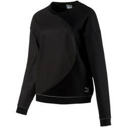 textil Dam Sweatshirts Puma 571673 Svart
