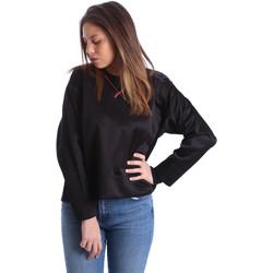 textil Dam Sweatshirts Ea7 Emporio Armani 6XTM68 TN11Z Svart