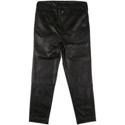 textil Dam Chinos / Carrot jeans Fornarina BIF1I84P27900 Svart