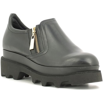 Skor Dam Loafers Fornarina PIFST9576WCA0000 Svart