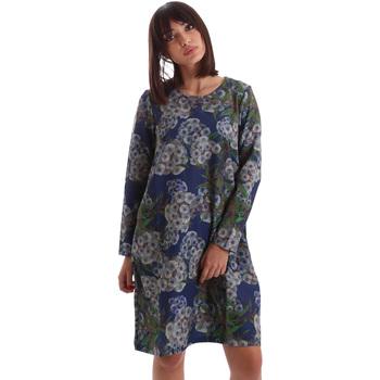 textil Dam Korta klänningar Gazel AB.AB.ML.0026 Blå