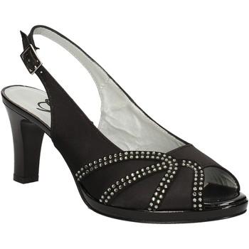 Skor Dam Sandaler Grace Shoes E7793 Svart