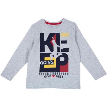 textil Barn Långärmade T-shirts Chicco 09006867000000 Grå