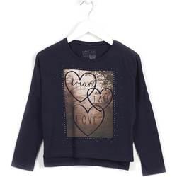 textil Flickor Sweatshirts Losan 624 1008AB Blå