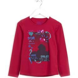 textil Flickor Sweatshirts Losan 624 1028AB Violett