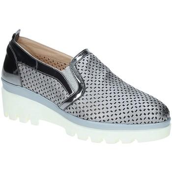 Skor Dam Loafers Grace Shoes J306 Grå