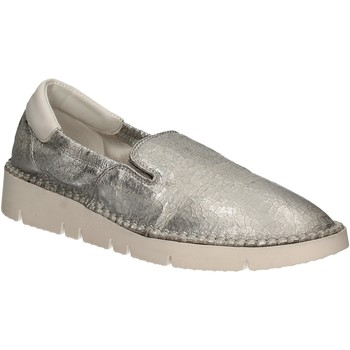 Skor Dam Slip-on-skor Keys 5075 Silver
