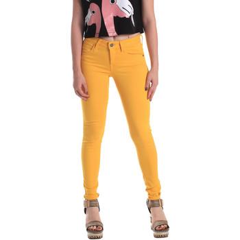 textil Dam Skinny Jeans Fornarina BE171L37D86846 Gul