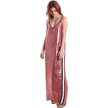 textil Dam Långklänningar Fornarina BE178D61CA05E9 Rosa