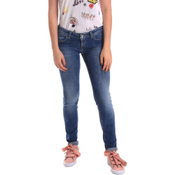 textil Dam Skinny Jeans Fornarina BER1H27D709R59 Blå