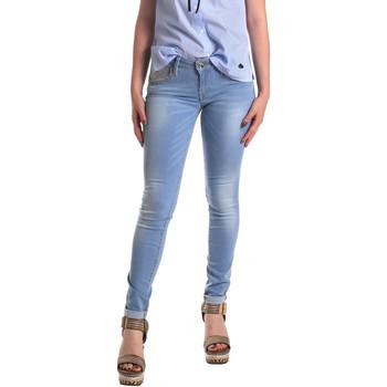 textil Dam Skinny Jeans Fornarina BER1H37D709R60 Blå