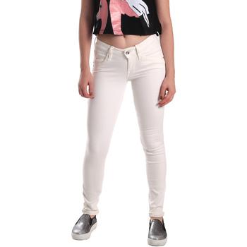 textil Dam Skinny Jeans Fornarina BER1H37D73409S Vit