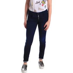 textil Dam Skinny Jeans Fornarina BER1I02D784R50 Blå