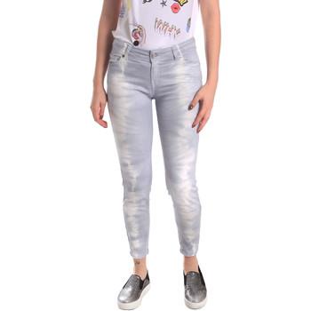 textil Dam Jeans boyfriend Fornarina BER1L01D851GD Grå
