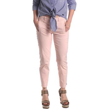 textil Dam Chinos / Carrot jeans Fornarina SE171L74G291C5 Rosa