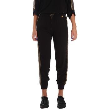 textil Dam Joggingbyxor Fornarina SE171L96C99700 Svart