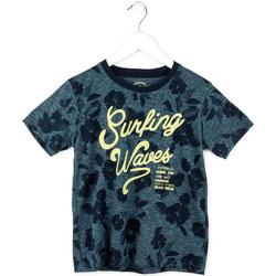 textil Pojkar T-shirts Losan 713 1009AA Blå