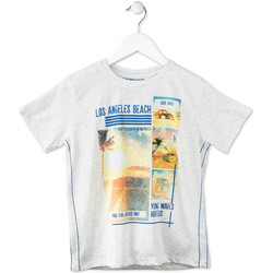 textil Barn T-shirts Losan 713 1021AA Grå
