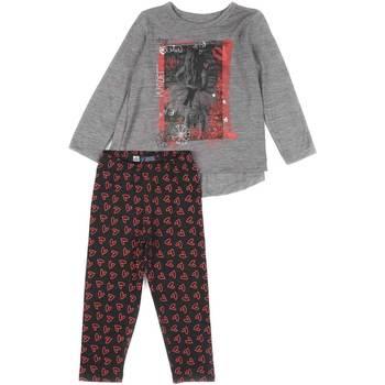 textil Flickor Set Losan 626 8016AD Grå