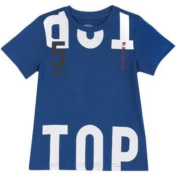 textil Barn T-shirts Chicco 09006586000000 Blå